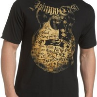 Zion Rootswear Men's Johnny Cash Songs T-Shirt