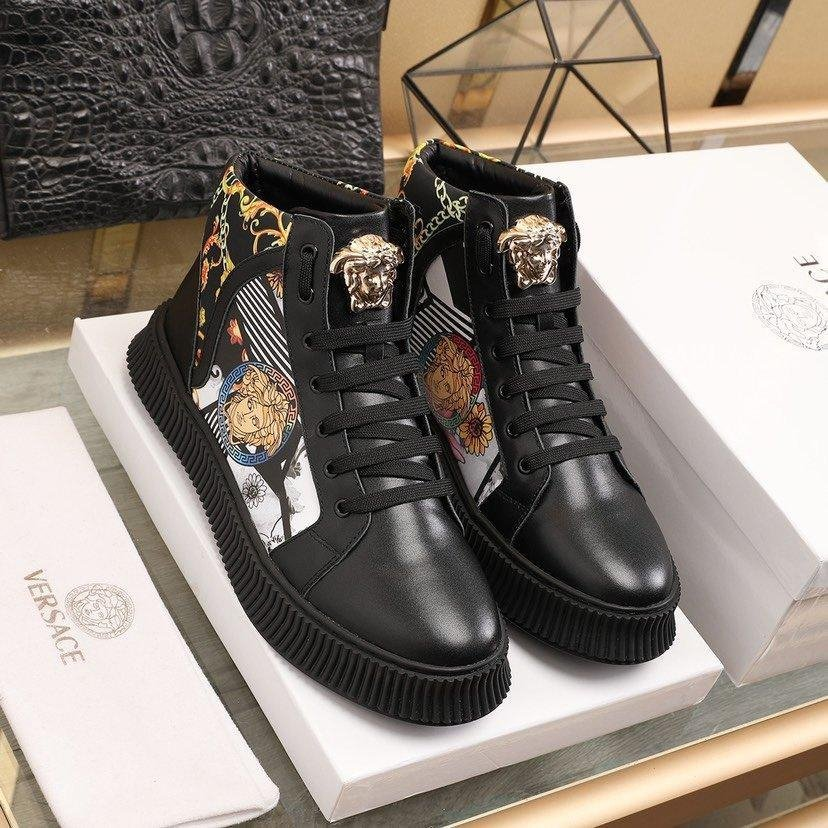 Image of VERSACE  Woman's Men's 2020 New Fashion Casual Shoes Sneaker Sport Running Shoes