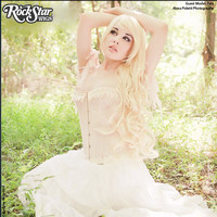 """Cosplay Wigs USA™  Curly 90cm/36"""" - Light Blonde -00326"""