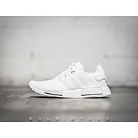 Adidas NMD_R1 'All White'