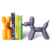 Balloon Animal Bookend - Purple