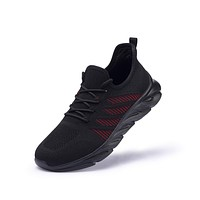 FRANK MULLY Men's Walking Shoes Athletic Blade Sport Sneakers Breathable Mesh Fashion Shoes 8 Black