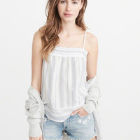 Womens Square-Neck Cami | Womens Tops | Abercrombie.com