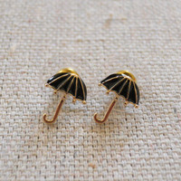 Rainy Day Earrings [3673] - $9.00 : Vintage Inspired Clothing & Affordable Dresses, deloom   Modern. Vintage. Crafted.