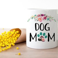Dog Mom Mug, Dog Love Gift, Fur Mom Coffee Mug, Dog Mama, Gift for Her, New Dog Coffee Cup, New Puppy Gift, Rescue Mom, Animal lovers