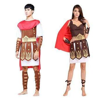 Men's & Women's Greek Warrior/Roman Gladiator Costumes
