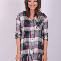 Button Our Way Tunic