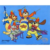 Tra La La - Limited Edition Sericel by Hanna-Barbera Animation Art with a Full Color Background