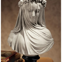The Bride Statue (Veiled Maiden) - NG31524 - Design Toscano