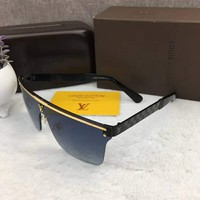 LOUIS VUITTON Fashion Sunglasses Blue