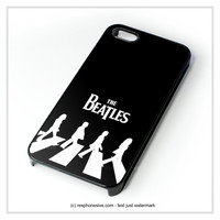 The Beatles Logo Nebula iPhone 4 4S 5 5S 5C 6 6 Plus , iPod 4 5 , Samsung Galaxy S3 S4 S5 Note 3 Note 4 , HTC One X M7 M8 Case
