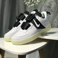 Tagre™ Nike Air Force 1 Low Prm Men Casual Personality Fashion Leather Crisscross Bandage Plate Shoes Sneakers