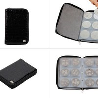 Bundle Monster Nail Stamp Stamping Plate Zippered Synthetic Leather Case Plates Holder Organizer | AihaZone Store