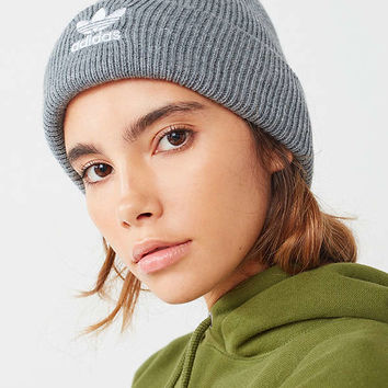 adidas Originals Trefoil II Knit Beanie | Urban Outfitters