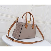 LV Louis Vuitton Women's M53825 Leather Shoulder Bag LV Tote LV Handbag