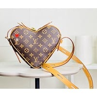 lv louis vuitton womens leather shoulder bag satchel tote bags crossbody 609
