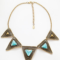 Amore Necklace - Aqua - One