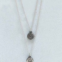Lovebullets Double Drop Necklace-