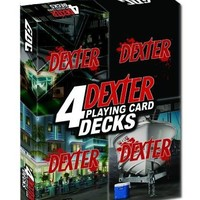 Dexter Playing Cards 4-Pack