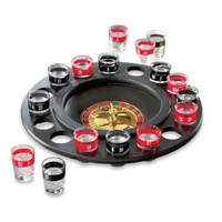 Game Night Roulette Shot Glass Game Set - Large