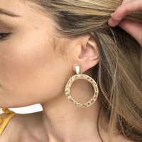Stella Gold Hoop Earrings