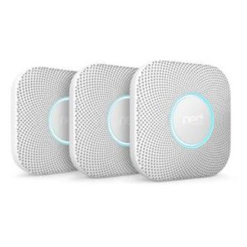 Nest Protect Wired Smoke and Carbon Monoxide Alarm (3-Pack) VBT2T2T216-W at The Home Depot - Mobile