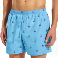 Men's Organic Cotton Boxer Shorts - Boat