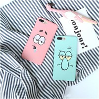 Patrick & Squidward Phone Cases