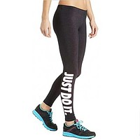 2018 New Just do it women leggings black simple Fitness leggings casual sexy legs healthy and comfortable pants