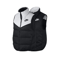 Nike Women's Sportswear Windrunner Reversible Vest Black White