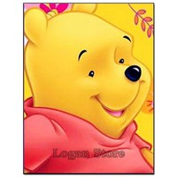 5D Diamond Painting Portrait of Winnie the Pooh Kit