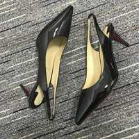 Christian Louboutin Cl Pumps High Heels Reference #02bk37 - Best Deal Online