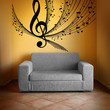 Vinyl Wall Decal Sticker Music Notes Design #1173