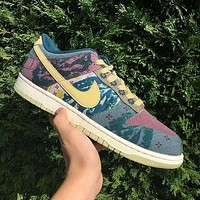 Nike Sb Dunk Low Lemon Wash low-top casual sports skateboard shoes-1