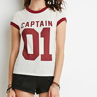 Captain Graphic Ringer Tee