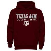 Texas A&M Aggies Youth 3 Stack II Pullover Hoodie - Maroon - http://www.shareasale.com/m-pr.cfm?merchantID=7124&userID=1042934&productID=547708873 / Texas A&M Aggies
