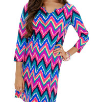 Lily Pulitzer Hearts Afire Shift Dress :: NEW ARRIVALS :: The Blue Door Boutique