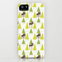 Moose Family 3 iPhone & iPod Case by Cecilia Andersson