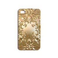Kanye West Jay-Z Gold Album Cover Case iPhone Gold iPod Watch the Throne Cool