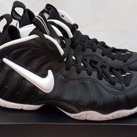 Nike Air Foamposite Pro Dr. Doom Black White 624041-006 Size 7 Penny royal