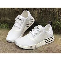 Adidas Nmd R1 Pk Boost x Off White Women Breathable Running Sneakers Sport Shoes