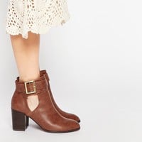 ASOS EVERSLEIGH Cut Out Ankle Boots