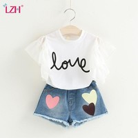 Children Clothing 2019 Summer Toddler Girls Clothes 2pcs Outfits Kids Clothes For Girls Suit Tracksuit For Girls Clothing Sets