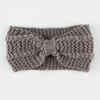 Knotted Sweater Knit Headwrap   Headwraps