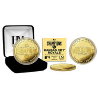 Kansas City Royals 2014 AL Champions Gold Mint Coin