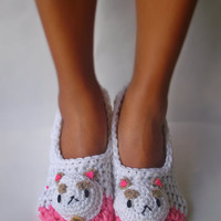 Puppycat home slippers Bee and Puppycat women size 5 to 10.5