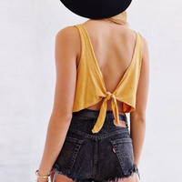 Back Knot Knitted Cami B007769