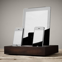 Charging Tray iPhone® & iPad® - Walnut