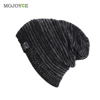 25*23cm Fashion New Men Women Beanie Oversize Warm Hat Ski Orlon Knitted Cap Skull Unsex Mens Ladies Skull Cap Gorro Cap SN9