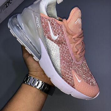 NIKE AIR MAX 270 women's starry atmosphere cushion running shoes